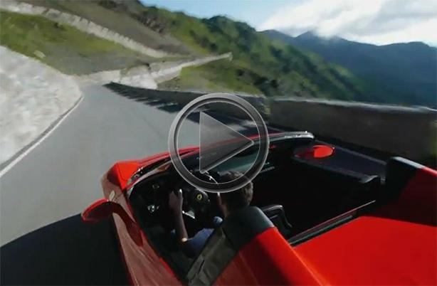 Ferrari 458 Spider Tested On The Stelvio Pass
