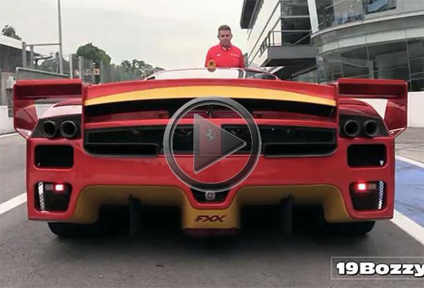 Ferrari Fxx Evoluzione At Monza