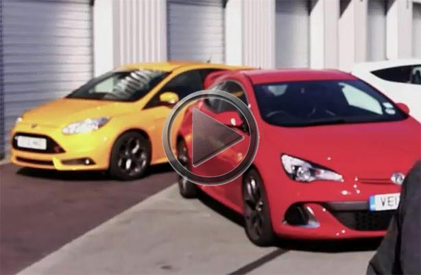 2013 ford focus st vs 2012 renault megane rs vs 2012 vauxhall astra vxr. Black Bedroom Furniture Sets. Home Design Ideas