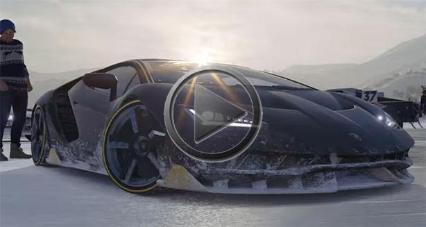 Forza Horizon 3 Blizzard Mountain Trailer