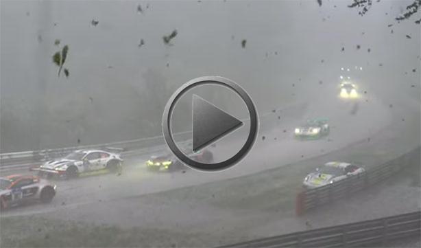 Freak Hailstorm Stops Nurburgring Race