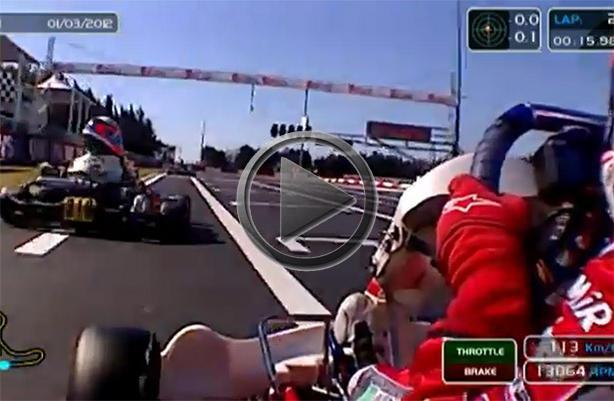 Go Kart Crash At 113 Kmh