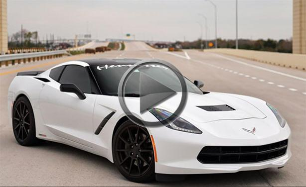 Corvette Stingray Top Speed >> Hennessey Corvette Stingray Top Speed Run