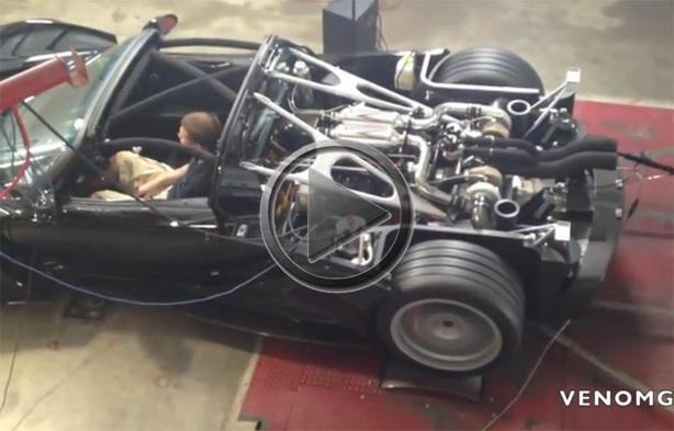 Hennessey Venom Gt Spyder Dyno