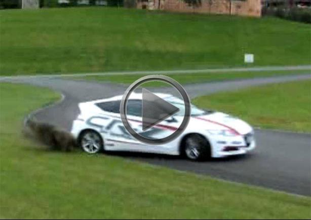 Honda Cr Z Drifting