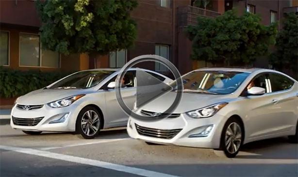 Hyundai Elantra Commercial Girl