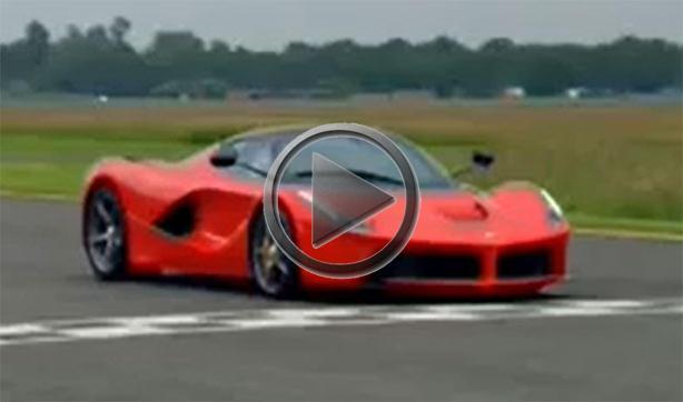 Jason Plato Sets Power Lap Time In Laferrari On Top Gear Track
