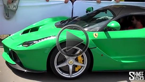 Jay Kay LaFerrari in Kermit Green
