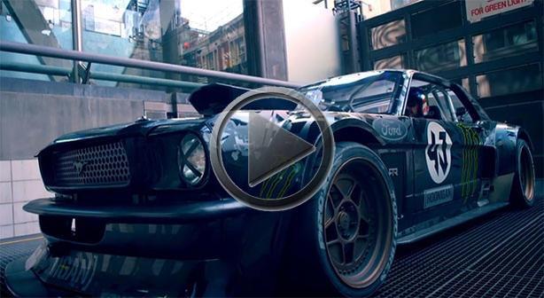 Ken Block Drifts London: Full Top Gear Segment