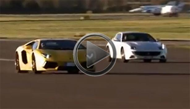 Lamborghini Aventador vs Ferrari FF