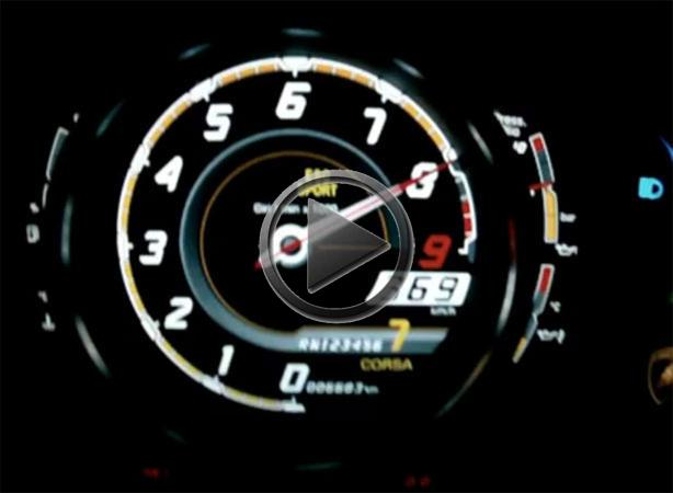 Lamborghini top speed
