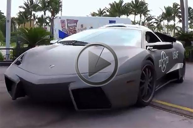 Lamborghini Murcielago Gets Reventon Body Kit