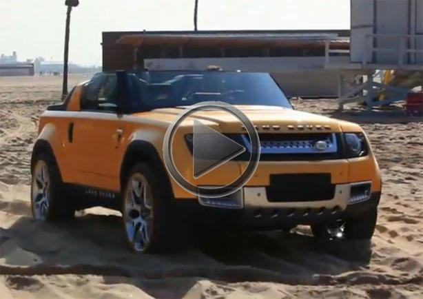 Land Rover Dc100 Sport Goes To The Beach