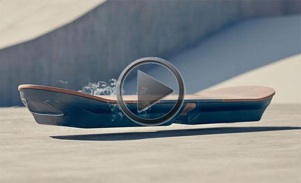 Lexus Reveals Back To The Future Style Hoverboard