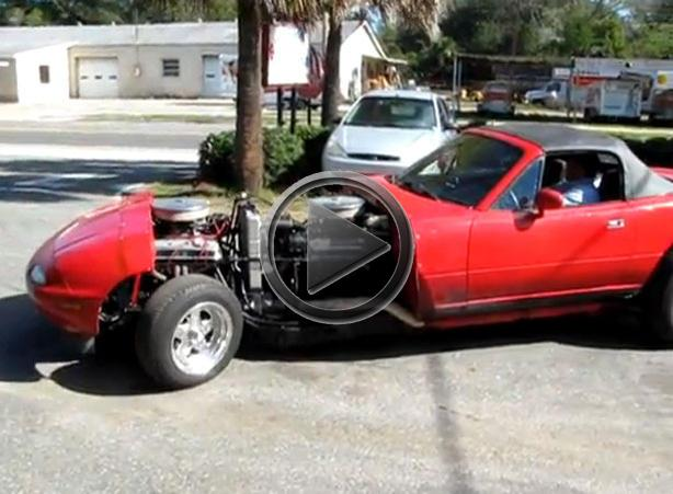 Mazda Miata Gets V16 Engine