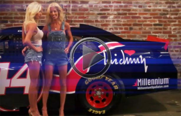 nascar twins amber and angela cope tube porn video. Black Bedroom Furniture Sets. Home Design Ideas