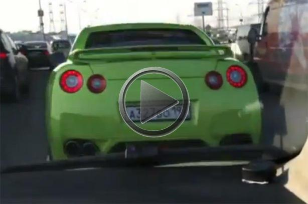 Nissan Gt R Police Chase