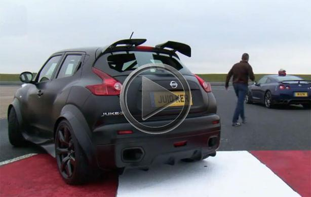 Nissan Juke R vs GT R