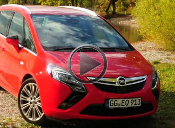 Opel Zafira Tourer Review