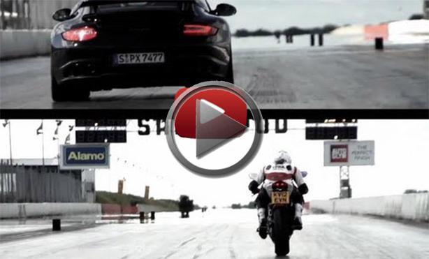 Porsche 911 Gt2 Rs Vs Ducati 1199 Panigale