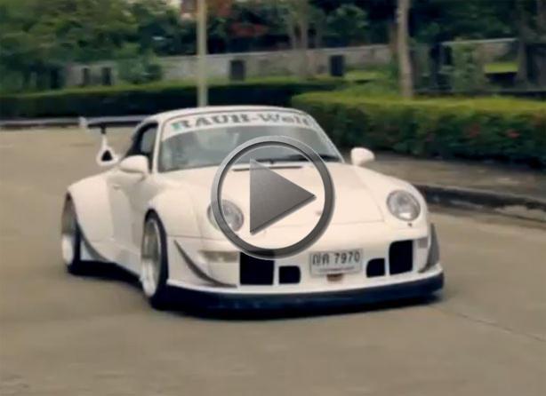 Porsche Japanese Wide Body Treatment
