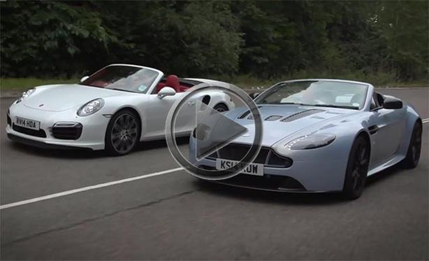Porsche 911 Turbo S Vs Aston Martin V12 Vantage S