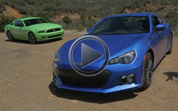 Range Rover Vs Land Rover >> Subaru BRZ vs 2013 Ford Mustang V6