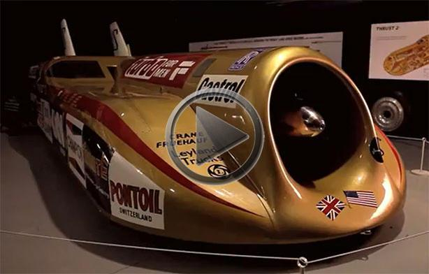 Thrust 2 World Speed Record Car Presented