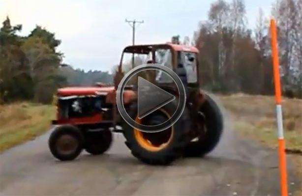 Tractor Gets Turbocharged Volvo Engine